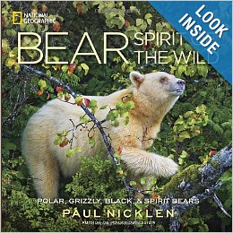 The cover of Paul Nicklen's book, 'BEAR'