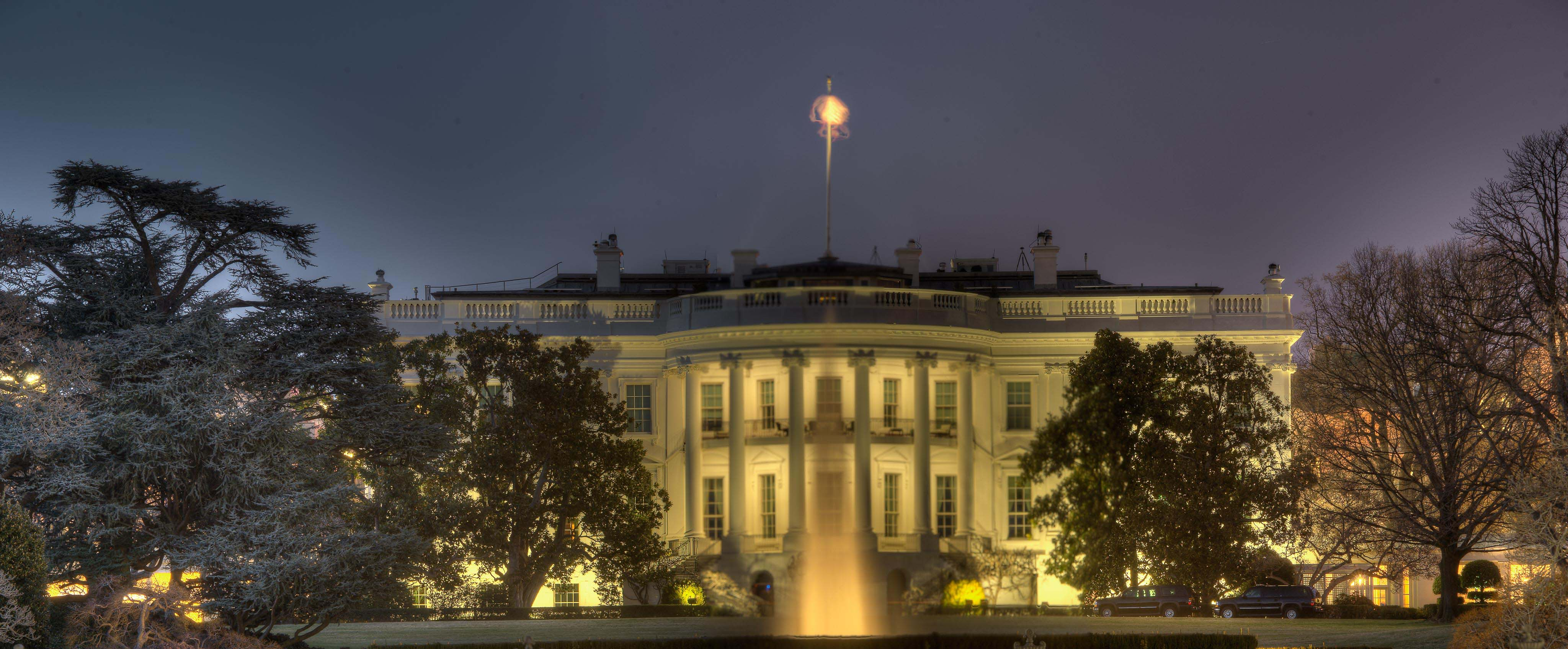 The Whitehouse at Night (HDR) - Copyright, 2014, Gerard McIntyre.  All rights reserved.
